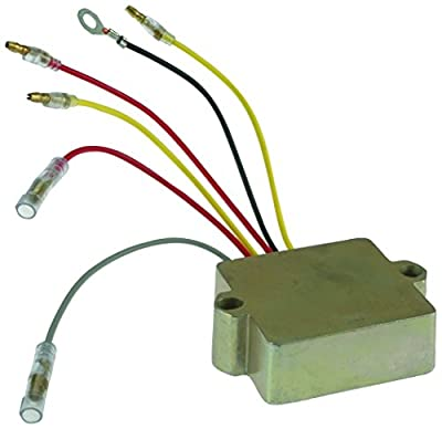 100% New Regulator, Rectifier Assembly Regulator Rectifier Mercury Mariner Outboard NEW 6-Wire