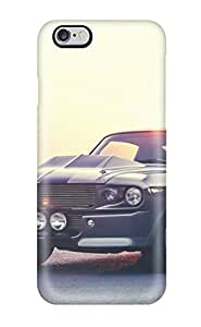 Durable Defender Case For Iphone 6 Plus Tpu Cover(muscle Car Mustang Vintage Beauty Black Cars Ford)