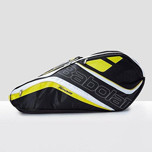 Babolat Schlägertasche Racket Holder X12 Team Line Yellow, gelb, 76 x 45 x 32 cm, 109 Liter, 751120-113