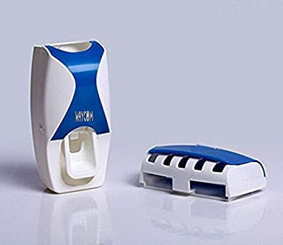 WAYCOM Dust-proof Toothpaste Dispenser Toothpaste Squeezer Kit