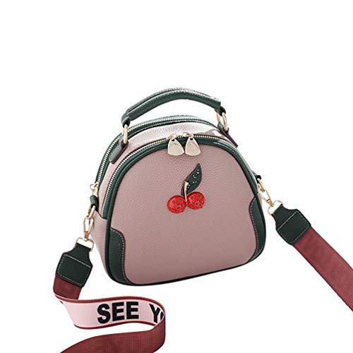 Bag Leather PU Bag Shoulder Bag Womens Mini Casual YAANCUN Body Picture Travel As the 3 Cross zwBFCg1q