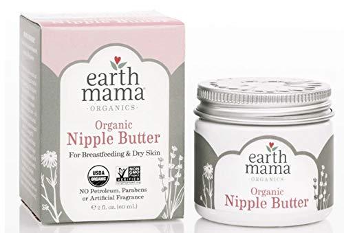 EARTH MAMA ANGEL BABY Organic Natural Nipple Butter, 2 OZ ()
