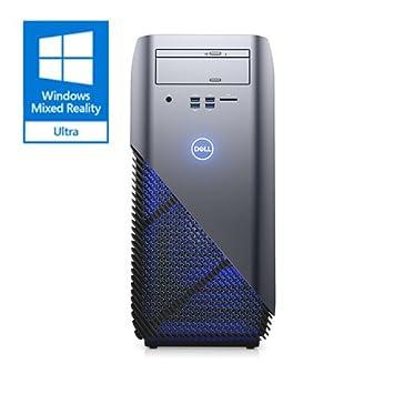 Dell i5675-A957BLU-PUS Inspiron 5675 AMD Desktop, Ryzen 7 1700X Processor, 8GB, 1TB, AMD Radeon RX 580 8GB GDDR5 Graphics, Recon Blue