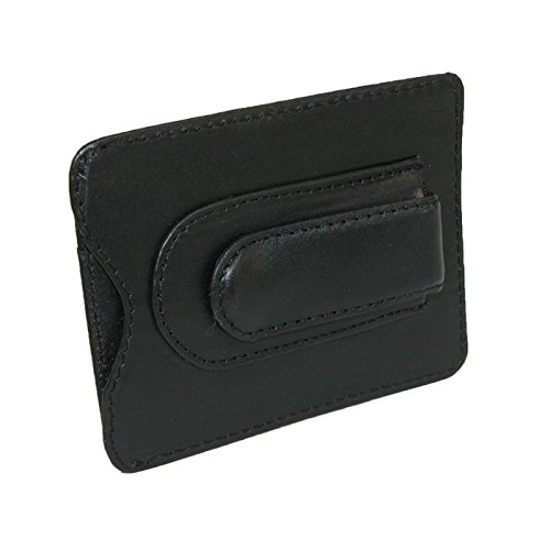 (Leather Money Clip & Credit Card Holder)