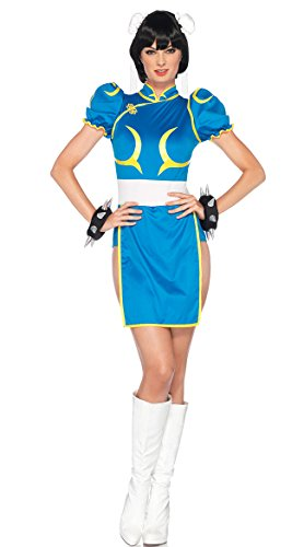 Leg Avenue Women's Street Fighter ChunLi Costume -