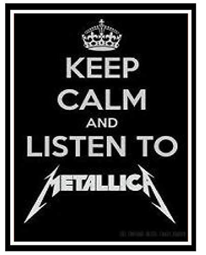 LynnYo22 Metallica (Heavy Metal Rock Band) Divertido Cartel ...