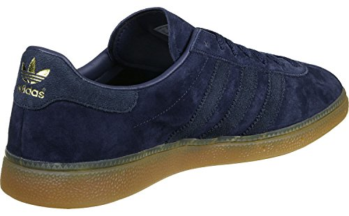 adidas München chaussures dark blue/gum