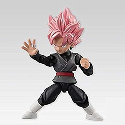 BANDAI Dragon Ball Z Power 66 Collection SS Rose Goku Black Action Figure: Toys & Games