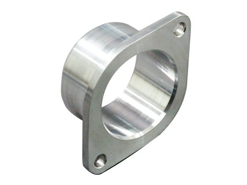 CXRacing Aluminum Inlet Flange//Adapter 2 Bolt 2.25 Inch for GT25R GT28 Turbo