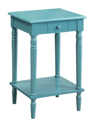 - Convenience Concepts French Country End Table, Blue