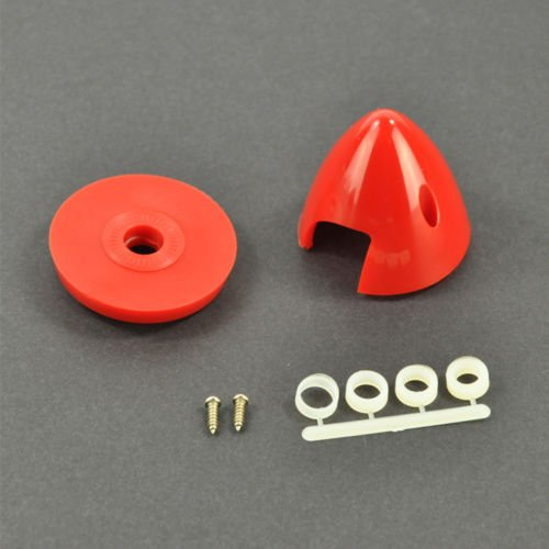 Prop Spinner 2 Blade - ZYHOBBY 1 Piece Plastic Prop Spinner 2 inch/50.8mm for RC Gas Airplane 2 Blades Propeller
