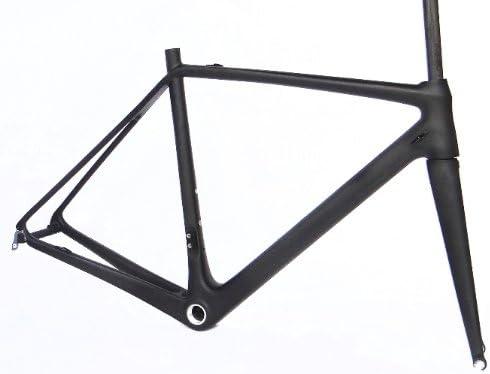 フルカーボン UDマット 700c ロードバイク 自転車 BSA フレームフォーク 54cm