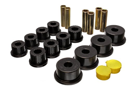 Dodge Bushings Energy Rear Suspension (Energy Suspension 5.2109G Rear Spring Bushing for Dodge)