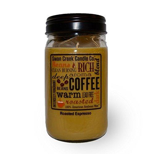24 Oz Candle - Swan Creek Roasted Espresso 24 Oz Jar Candle