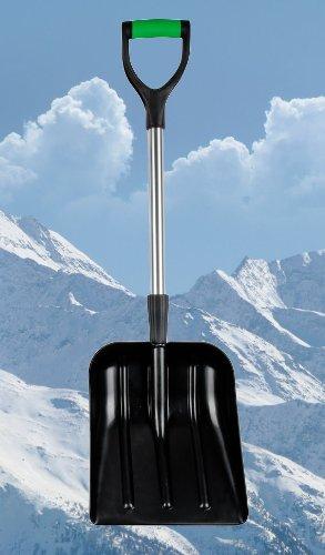 Schneeschaufel Auto Alu Teleskop Schneeschieber Lawinenschaufel Schneeschippe