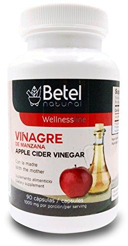 Vinagre de Manzana de La Madre - Apple Cider Vinegar with the Mother Caps - 90 Caps