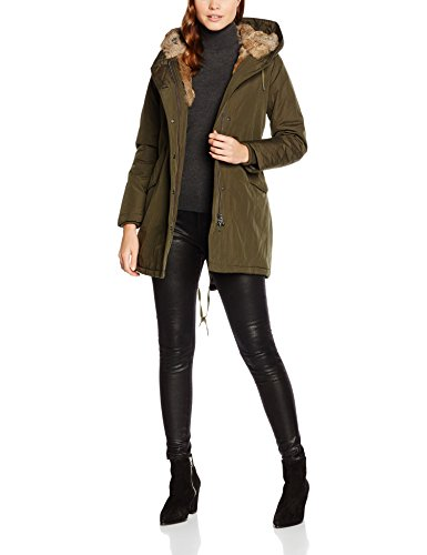 Canadian Lanigan Classics Gr Fur Real Femme Blouson Vert ZwZqpr5