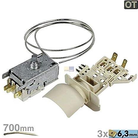 Termostato k59-l2684 de s2788/500 + portalámparas 484000008566: Amazon.es: Grandes electrodomésticos