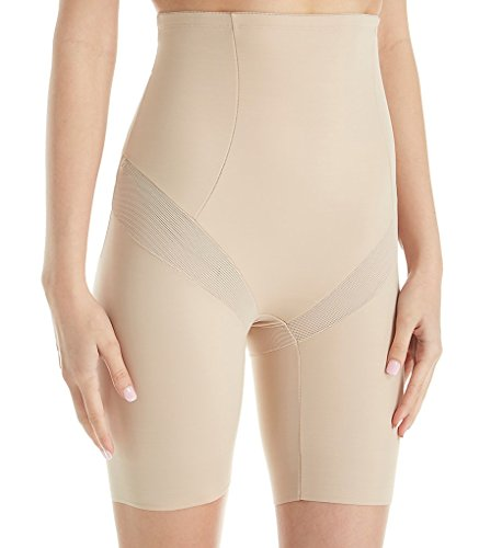 Miraclesuit Shapewear Women's Cool Choice High-Waist Thigh Slimmer Nude Small ()