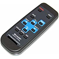 OEM Sharp Remote Control Originally Shipped With PNE702, PN-E702, PNE802, PN-E802, PNL601B, PN-L601B