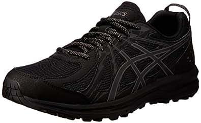 ASICS Australia Frequent Trail Men's Running Shoe, Black/Carbon, 8 US