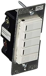 Leviton Vrcz4 Mrz Vizia Rf 4 Button Zone Controller With