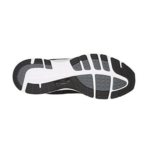 Asics Mens Dynaflyte 2 Scarpa Da Corsa Alla Caviglia Nero-bianco-carbonio