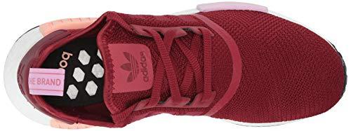 nbsp;– burgundy 42 burgundy Mujer Eu nbsp;zapatillas Adidas R1 De Senderismo clear Rojo Nmd Orange qZT18HE