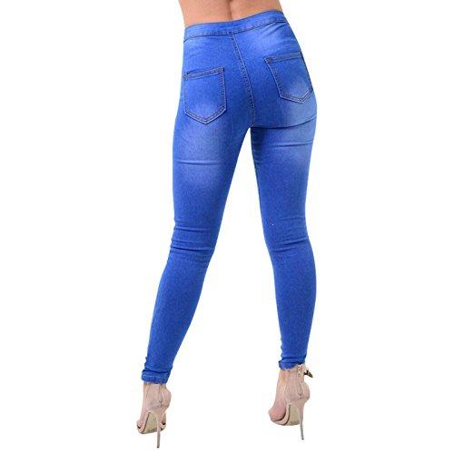 Xelay skinny Azul Vaqueros para mujer F6gw17Fz