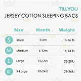 TILLYOU Medium M Breathable Interlock Cotton Baby