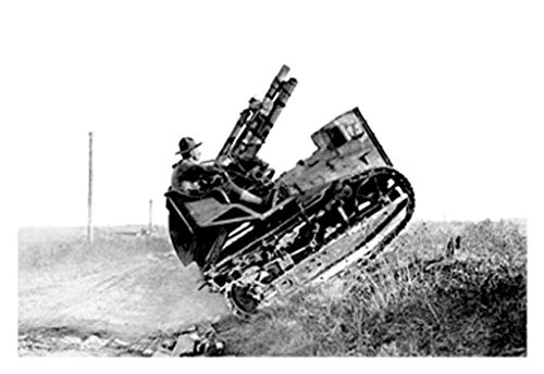 ArtParisienne The American 75 Tractor Gun 16x24-inch Wall Decal ()