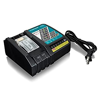 Powilling Dc18rc Li-ion Battery Charger With Led Screen For Makita 14.4v-18v Lithium-ion Battery Bl1830 Bl1840 Bl1850 Bl1815 2