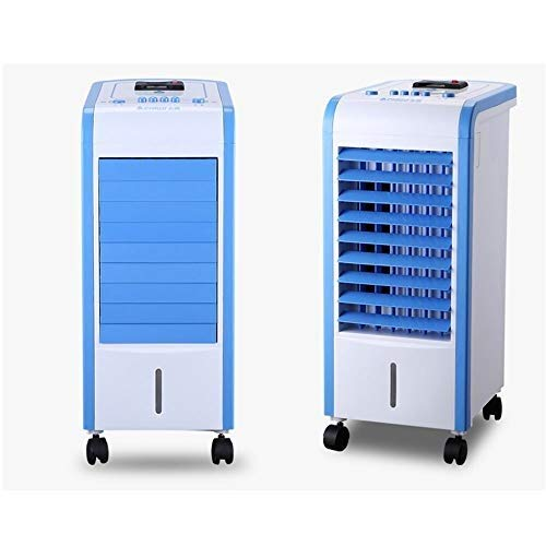 Household air cooler Portable Single Cold Type Mobile Air Cooler 3-speed Adjustment Portable Household With Mosquito Repellent Function Cold Air Fan Purifier Air-conditioning Fan 80W Water-cooled air