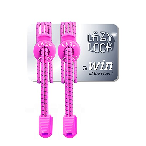 Vanilla Lace Victorias Secret Type (Lazy Lock 1 Pair Pull-Tight No-Tie Elastic Shoelaces Athlete-Friendly Shoelaces Never Tie Shoes)