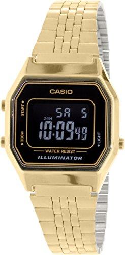 Casio Ladies LA680WGA-1B Gold Metal Quartz Watch
