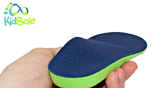 Neon Fix SPORT Premium Grade Orthotic Insole by KidSole. Revolutionary Lightweight Soft & Sturdy Orthotic Technology For Flat Feet and Arch Support ((20 CM) US Kids Shoe Sizes 12-1.5) by KidSole (Image #5)