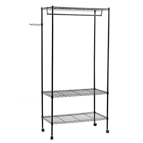 SONGMICS Shelving Garment Shelves ULGR45P