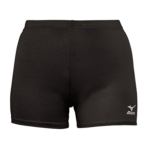 Mizuno Youth Vortex Shorts, Black, Medium