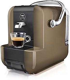 Lavazza SIMPLA GREIGE Independiente Manual Máquina de café en cápsulas 0.9L Negro, Marrón - Cafetera (Independiente, Máquina de café en cápsulas, 0,9 L, Cápsula de café, Negro, Marrón): Amazon.es: Hogar