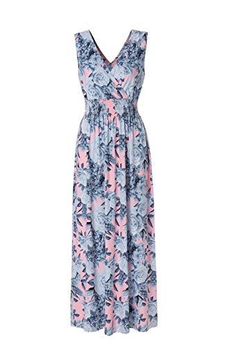 BEAUTIFUL-LIFE Summer Dresses Summer Dresses for Women Maxi Dresses Maxi Dresses (Small, Grey)