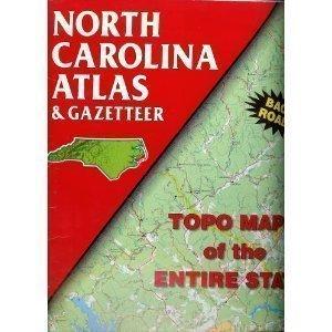 North Carolina Atlas & Gazetteer (State Atlas & Gazetteer)