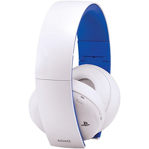 - PlayStation Gold Wireless Stereo Headset: Limited Edition - White