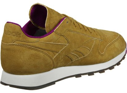 Reebok CL Leather MSP Calzado amarillo violeta