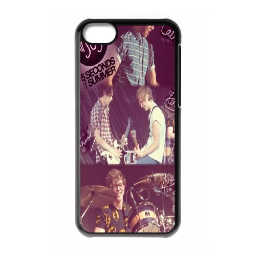 High quality 5 Second of Summer music band - 5SOS Band for fans durable cases For Iphone 5c NLL872121010