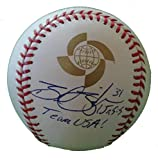 Boston Red Sox Brad Ziegler Autographed Hand Signed 2009 World Baseball Classic Game Ball with Proof Photo of Signing, Team USA, Arizona Diamondbacks, Oakland Athletics, A's, COA