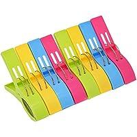 Tamaño Jumbo pinzas toalla de playa, diseño de clips para sillas de playa o salón–Silla Por Home-x