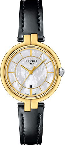 Tissot Flamingo Mother of Pearl Dial Ladies Watch T094.210.26.111.00