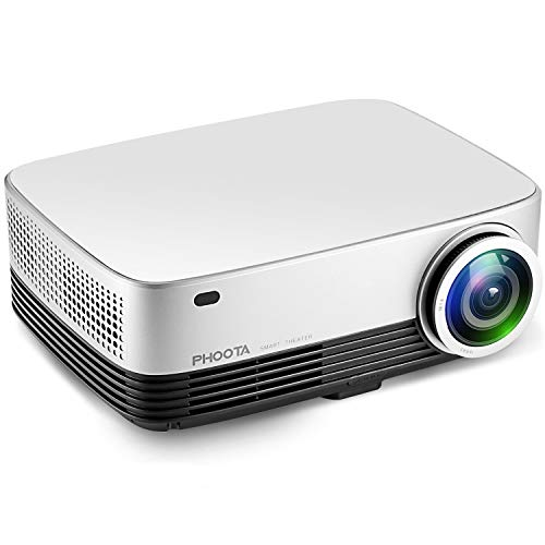 Projector, PHOOTA 3600 Lumens Portable Video Projector 1280x768P HD Projectors - 200