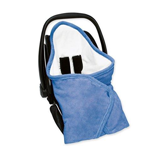 Bemini Belgium Footmuff BISIDE Belly Cover Denim Blue 90x90cm (Denim Infant Car Seat Cover)