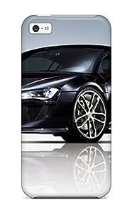 Iphone 5c Hard Back With Bumper Silicone Gel Tpu Case Cover Audi R8 Gt 21